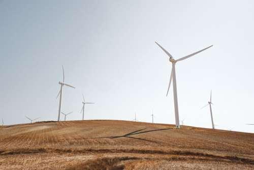Solar Wind Turbines Free Photo