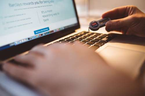 Secure Internet Banking Free Photo