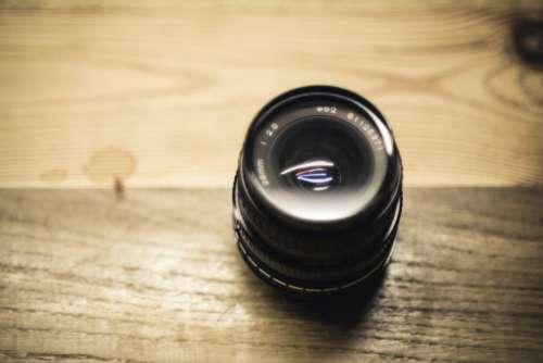Camera Black Fisheye Lens Free Photo