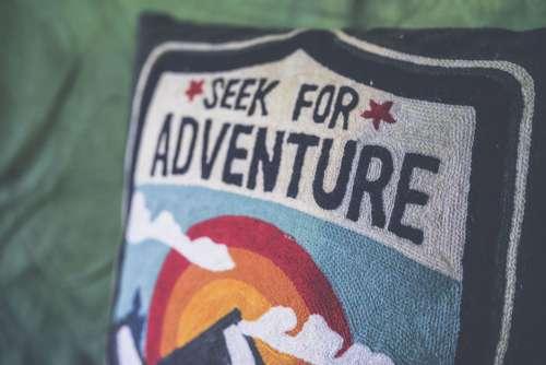 Seek for Adventure Pillow Free Photo