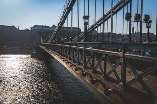 Bridge Water River Day Free Photo