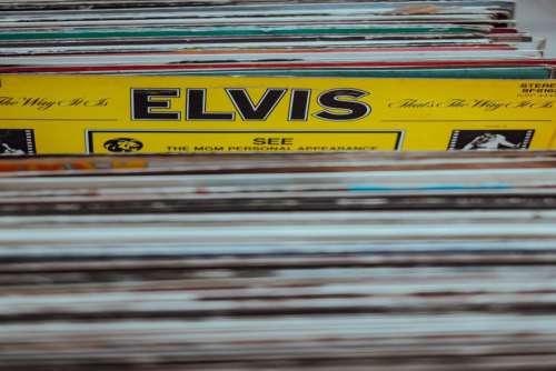 Elvis Vinyl Free Photo