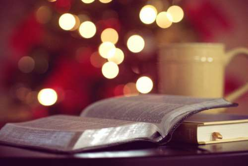 Open Book Bokeh Free Photo