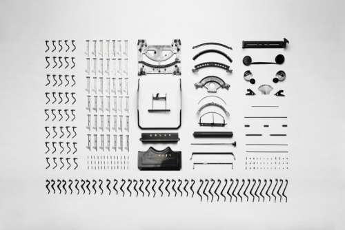 Vintage Typewriter Components Free Photo