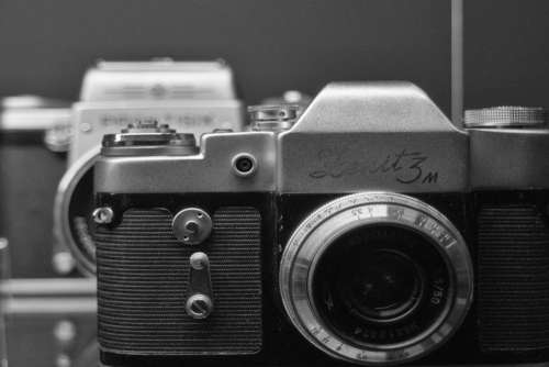 Vintage SLR Camera Zenit Free Photo