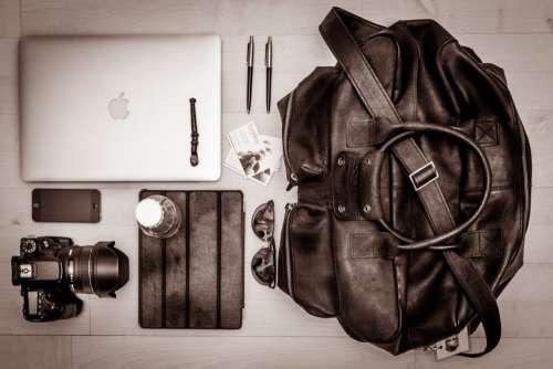 Bag MacBook Camera Free Photo