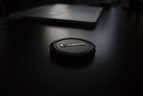 Black Canon Lens Cap Free Photo