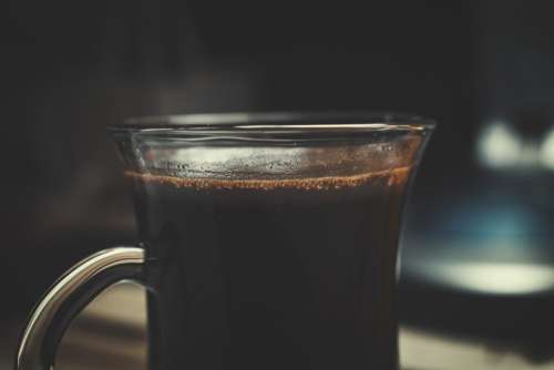 Black Coffee Drink Free Photo