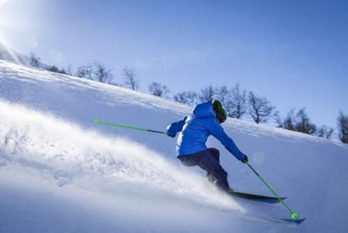 Ski Snow Downhill Free Photo