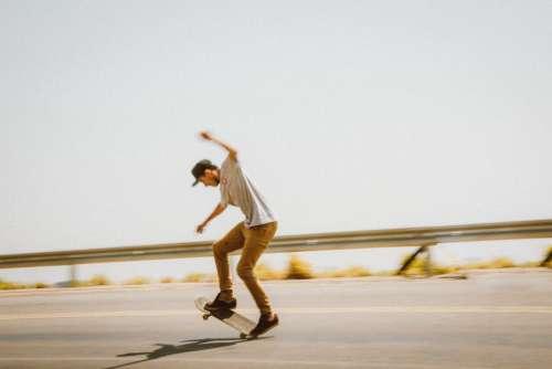 Skateboard Stunt Street Free Photo