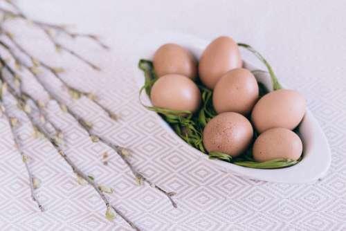 Egg Basket Easter Free Photo