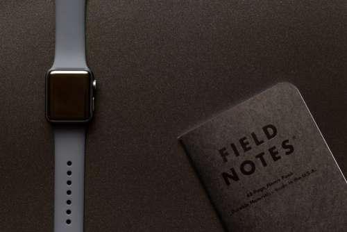 Apple Watch Flat Lay Free Photo