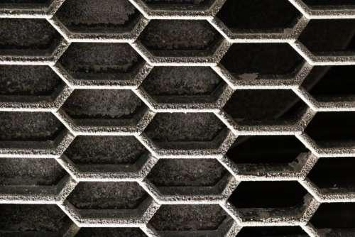 Car Grille Closeup Free Photo