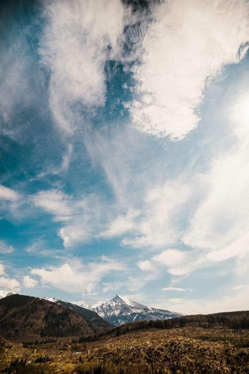 Krivan Mountain in High Tatras, Slovakia Vertical Free Photo