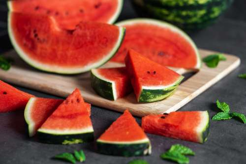 Slices of Watermelon Free Photo