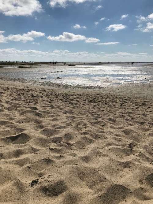 North Sea Beach Sea Vacations Water Sky Summer