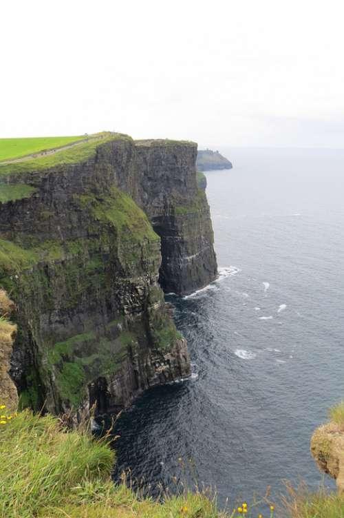 Cliffs Of Moher Ireland Cliffs Landscape Sea