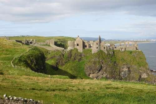 Dunluce Castle Northern Ireland Castle Ireland