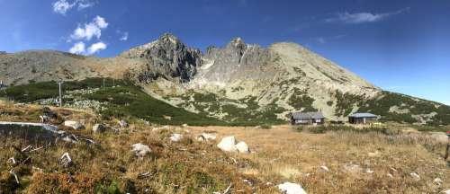 Tatry Mountains Nature Slovakia Panorama Tops