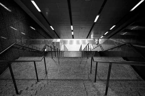Taiwan Taipei The Underpass Stairs