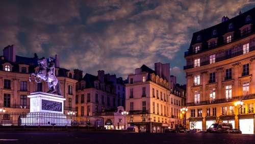 Paris Place Architecture City French Building