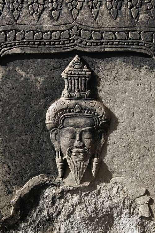 Angkor Portrait Khmer Angkor Wat Cambodia