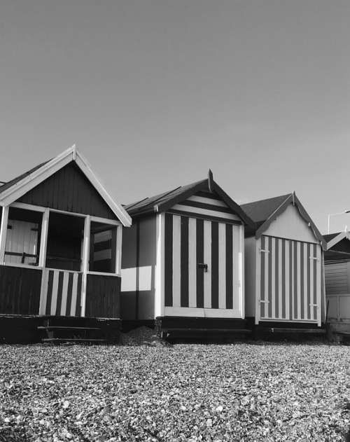 Beach Hut Summer Seaside Travel