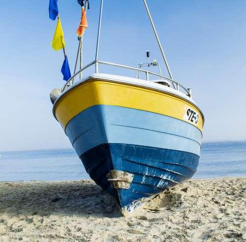 Boat Sea Ship Yacht Summer Sailing Blue Stegna