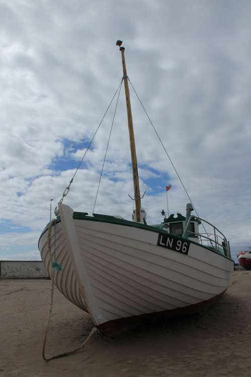 Boat Ship Shipping Maritim Fishing Summer Coastal