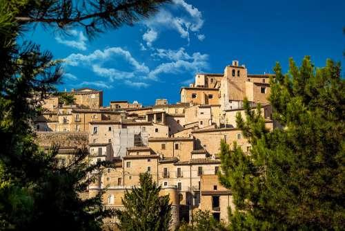Borgo Historian Italy Architecture Landscape