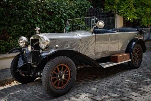 Car Automobile Auto Donnet Zedel Old Ancient