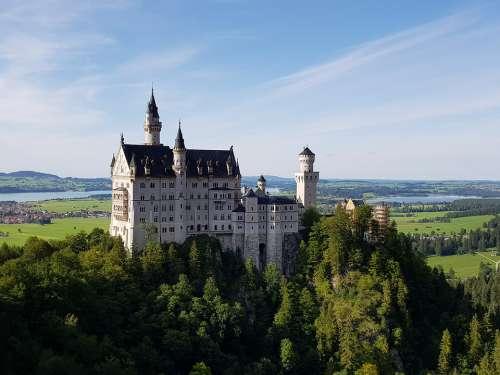 Castle Kristin Bavaria Germany Architecture Füssen