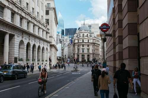 City Of London Bank London England City