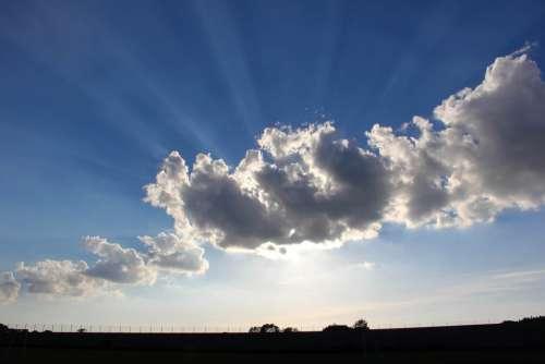 Cloud Sky Sunset Natural Weather Sunlight Summer
