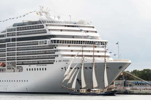 Cruise Ship Passenger Ship Tall Ship Sailing Vessel