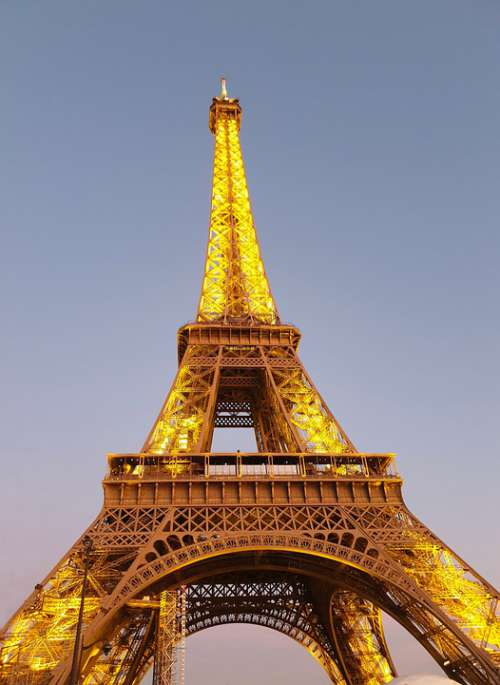 Eiffel Tower Architecture Paris Tower French