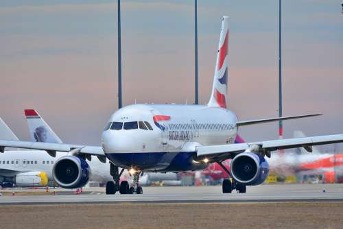 Flight Airbus Airport Airline Transport Jet