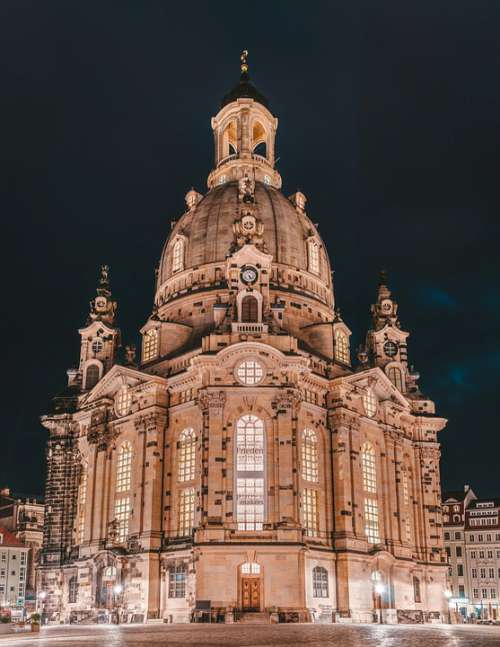 Frauenkirche Dresden Architecture Landmark Building
