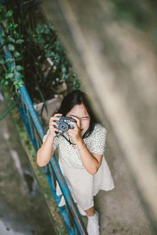 Girl Camera Photography Lifestyle Outdoors Vietnam