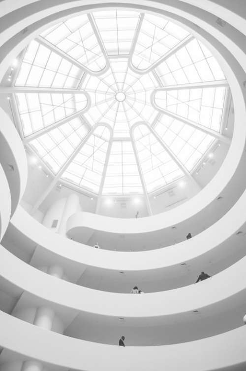Guggenheim Museum Ceiling Dome Cupola New York