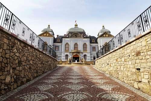 Halič Castle Galicia Lučenec Slovakia