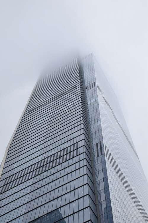 In New York City Manhattan Usa Skyscraper