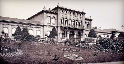 Kurhaus Bad Nauheim Germany 1870 Building