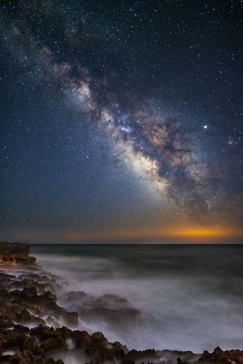 Milky Way Landscape Human Man Star Starry Sky