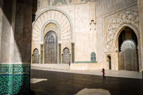 Mosque Hassan Morocco Architecture Building