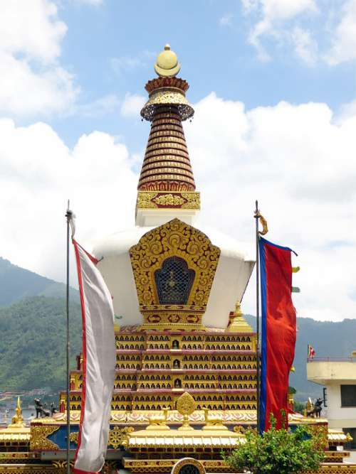 Nepal Kathmandu Stupa Buddhism Temple Culture