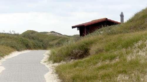 Norderney Dunes North Sea Island Of Landscape