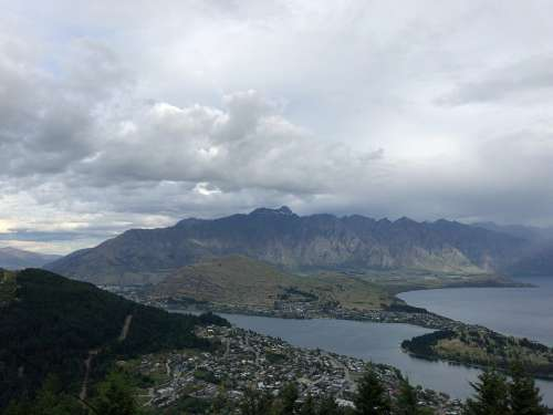 Overseas Travel New Zealand Nature Mountain