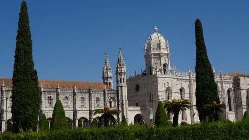 Portugal Lisbon Monastery Tourist Guide History