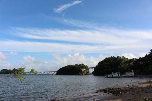 Sea Vacations Ship Water Beach Tropical Coast